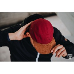 PG 5-panel Cap čiapka bordová