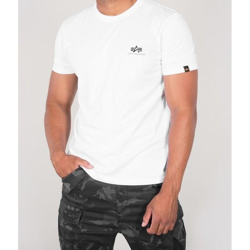 PIT BULL RASTER LOGO tričko biele