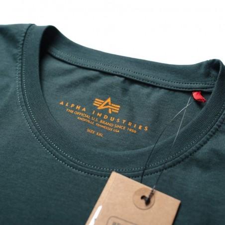 PIT BULL RASTER LOGO tričko zelené