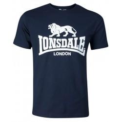 LONSDALE LOGO tričko modré