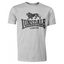 LONSDALE LOGO tričko šedé