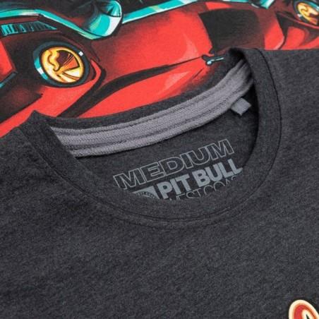 PG On Fire mikina s kapucou na zips šedá