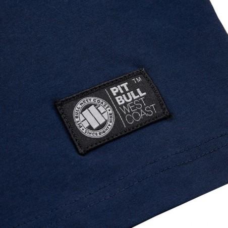 PIT BULL BLUE EYED DEVIL IX mikina s kapucou zips modrá