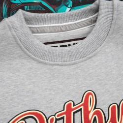 Dobermans DIVISION 44 LS137 tričko šedé dlhý rukáv