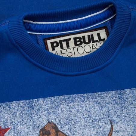 PIT BULL SKULL BOXING tričko bordové