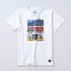 PGWEAR Triathlon tričko biele