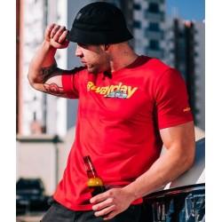 PGWEAR AWAYDAY tričko červené