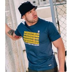 PGWEAR PYRO tričko modré