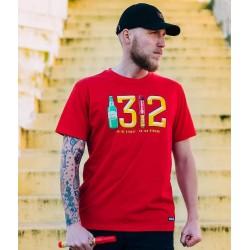 PGWEAR 1312 tričko červené
