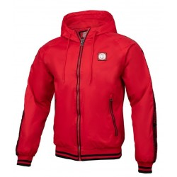 PIT BULL HULL bunda červená