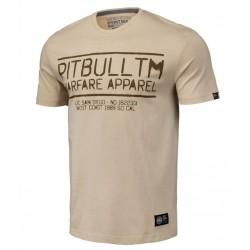 PIT BULL WARFARE tričko béžové