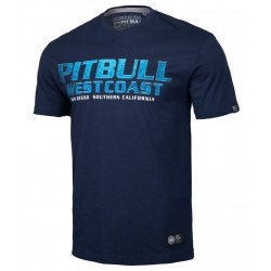 PIT BULL GAMBLER tričko modré