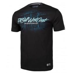 PIT BULL BED 19 tričko čierne