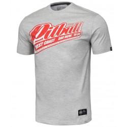 PIT BULL RED BRAND tričko šedé