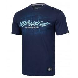 PIT BULL BED 19 tričko modré