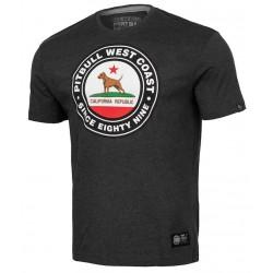 PIT BULL CIRCALDOG tričko šedé