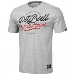 PIT BULL RETRO CAL tričko šedé