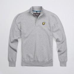 PGWEAR Staple sveter šedý
