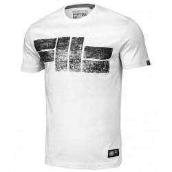 PIT BULL LOGO 19 tričko biele
