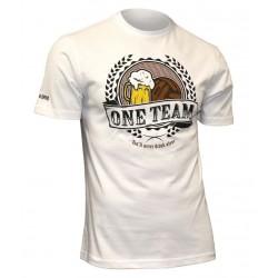 USWEAR ONE TEAM tričko biele
