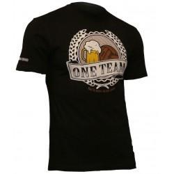 USWEAR ONE TEAM tričko čierne
