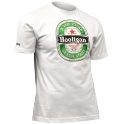 USWEAR HOOLIGAN tričko biele