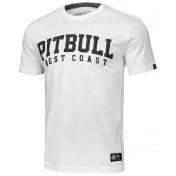 PIT BULL WILSON tričko biele