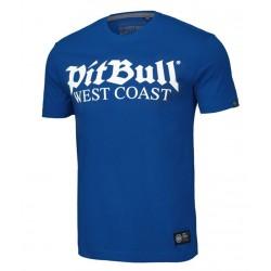 PIT BULL OLD LOGO tričko modré