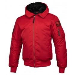 PIT BULL ENCINO bunda červená