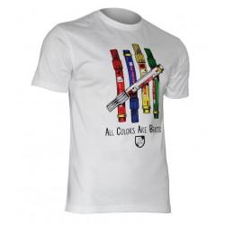 USWEAR ALL COLORS tričko biele