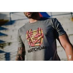 PGWEAR Matchday tričko šedé