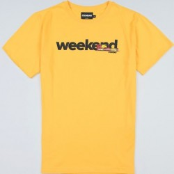 PGWEAR WEEKEND tričko žlté