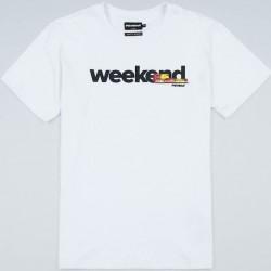 PGWEAR WEEKEND tričko biele