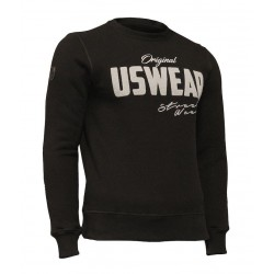 USWEAR mikina čierna