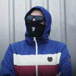 PGWEAR United maska čierna