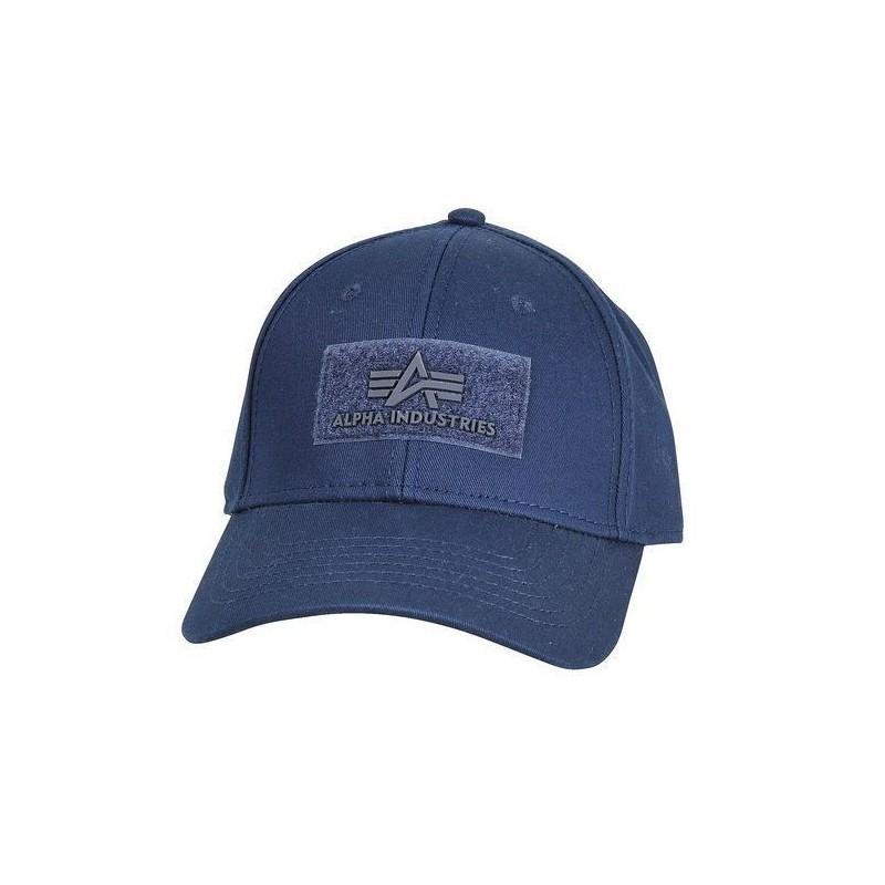8c5202b43 ALPHA INDUSTRIES VELCRO CAP šiltovka modrá