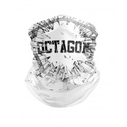 OCTAGON LOGO CRUSHED WHITE...