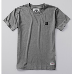 PGWEAR LABEL tričko šedé