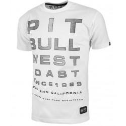 PIT BULL OPTI CAL tričko biele