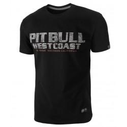 PIT BULL FIGHTER tričko čierne